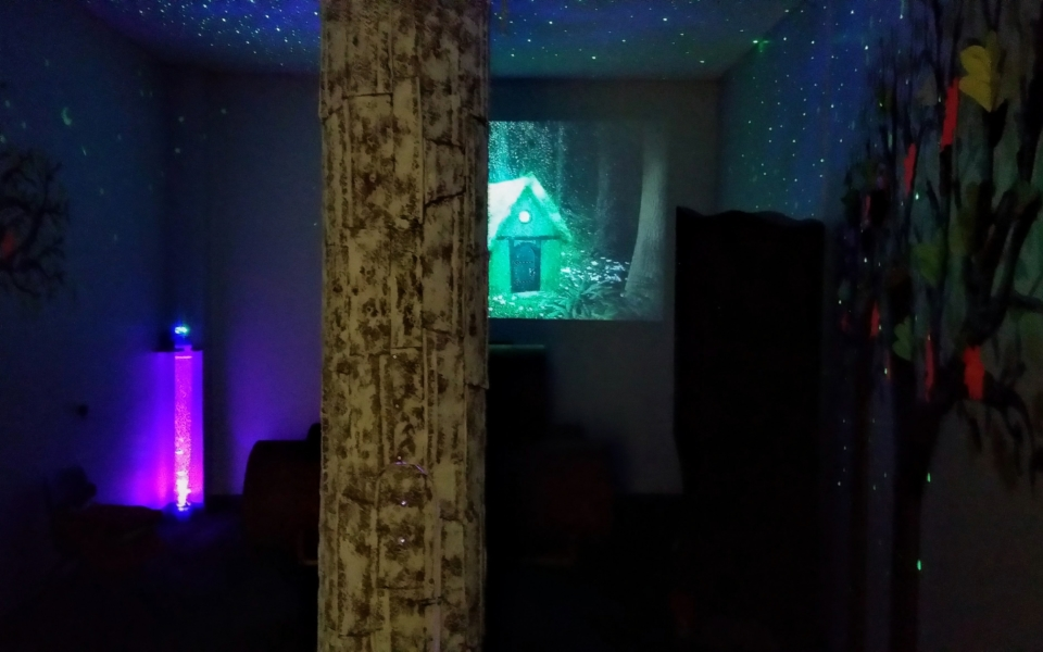 Stepaside ET Sensory room