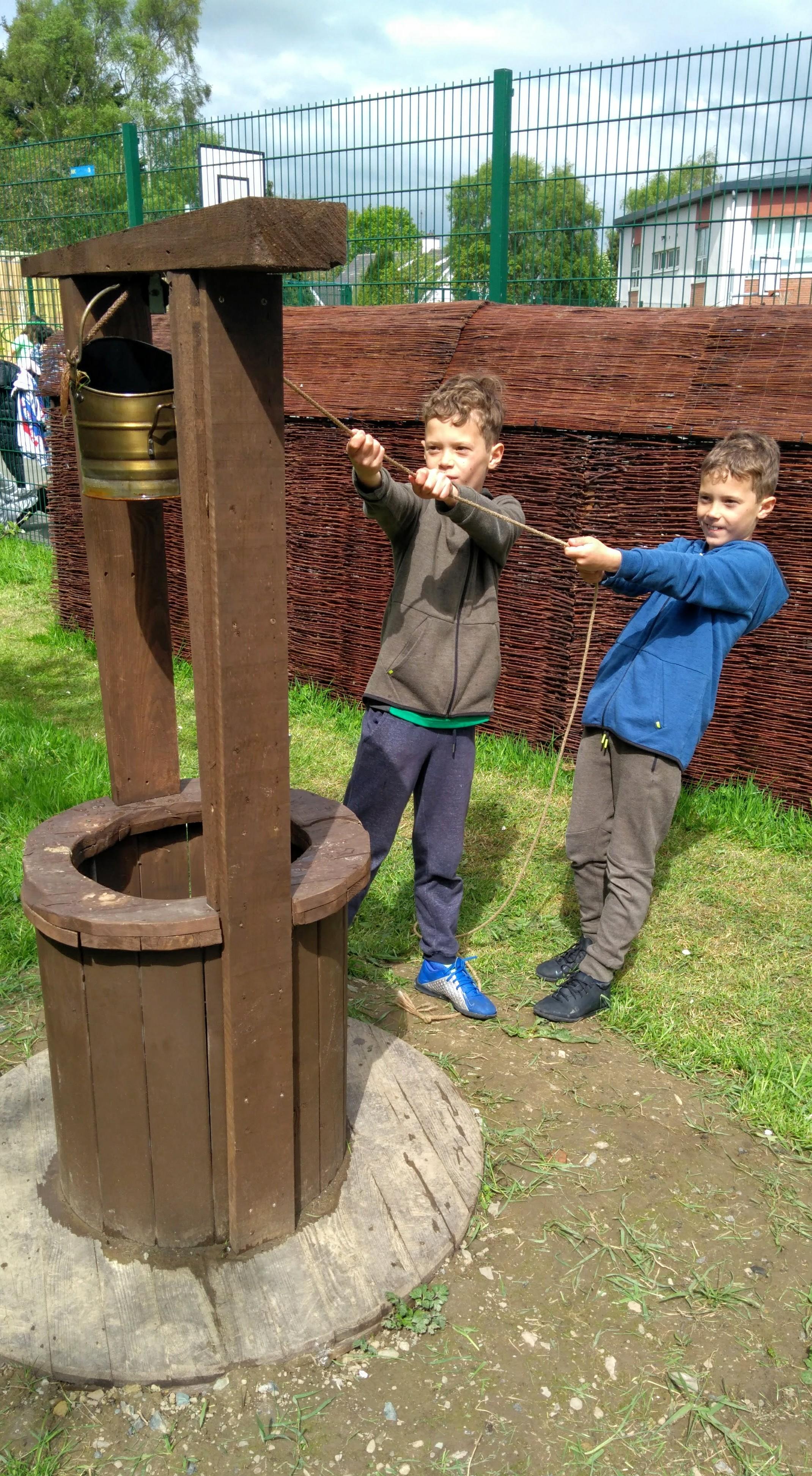 Swords ETNS Sensory Garden